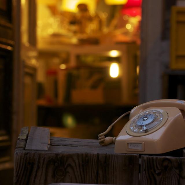 """Telephone, Curios"" stock image"
