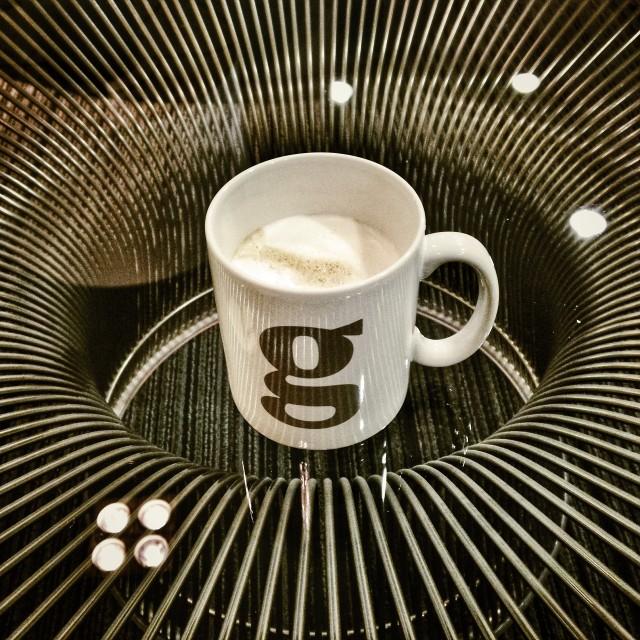 """""""Guardian coffee"""" stock image"""