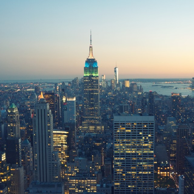 """Manhattan - New York City"" stock image"
