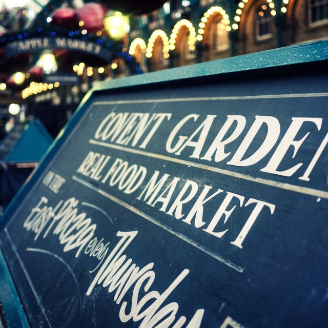 """Covent Garden"" stock image"