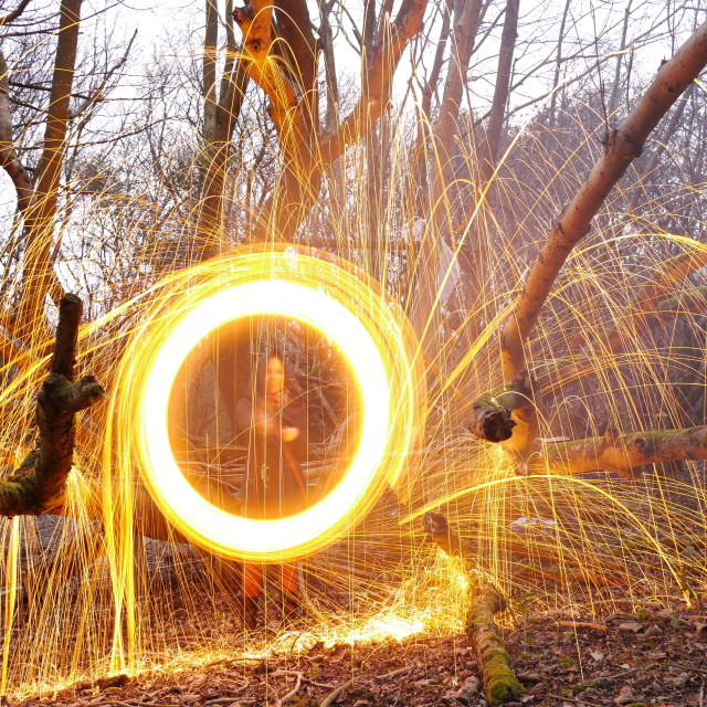"""Tree Sparks"" stock image"