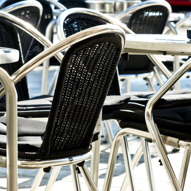 """""""Empty chairs"""" stock image"""