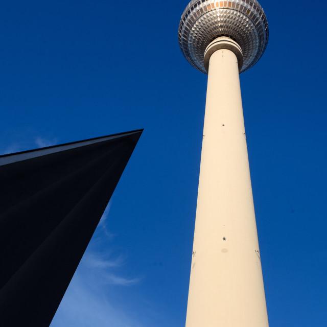 """""""Berlin p.o.v."""" stock image"""
