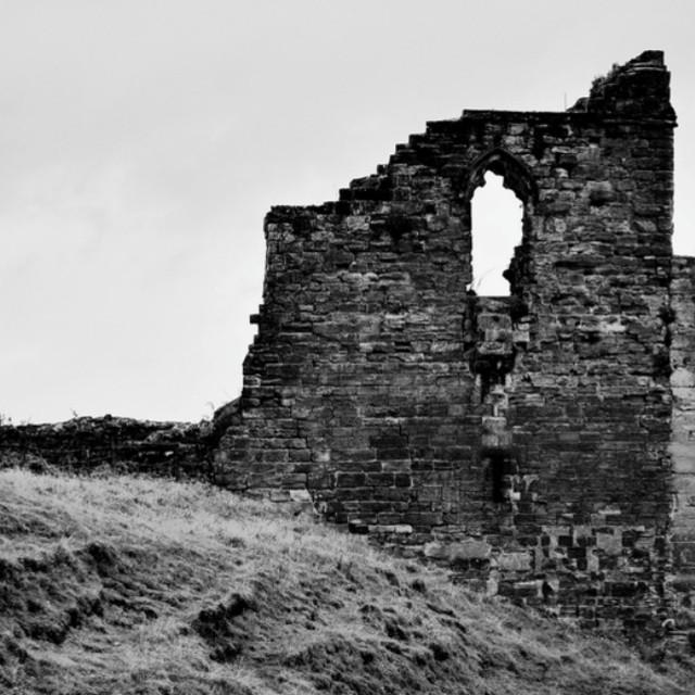 """Tutbury Castle"" stock image"