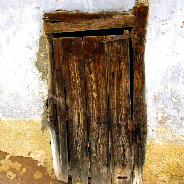 """santolaya - old door 1"" stock image"