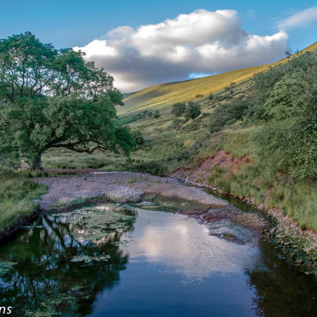 """Brecon Beacons"" stock image"