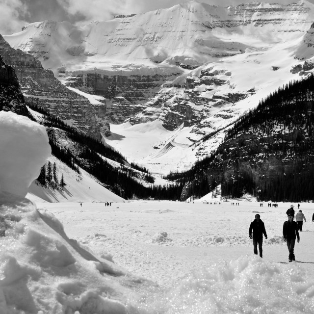 """Lake louise"" stock image"