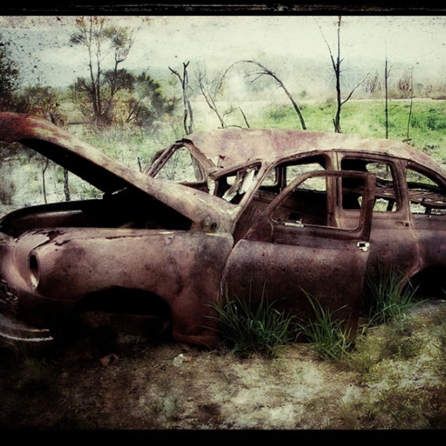 """Hire car returned"" stock image"