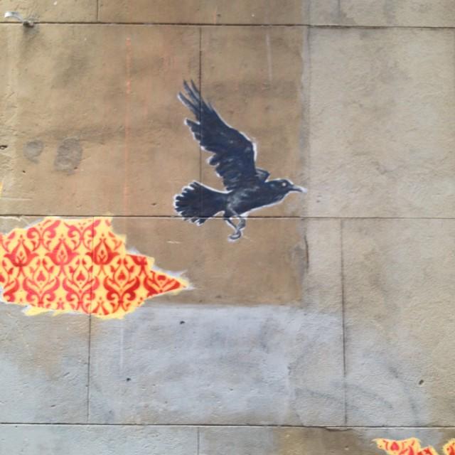 """Wallpaper Graffiti 03, Perth"" stock image"