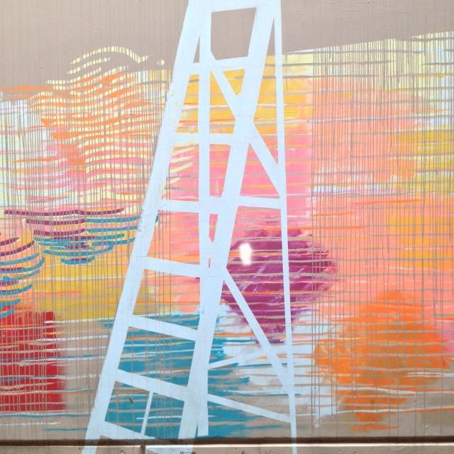 """""""Abstract Graffiti 02, Perth"""" stock image"""