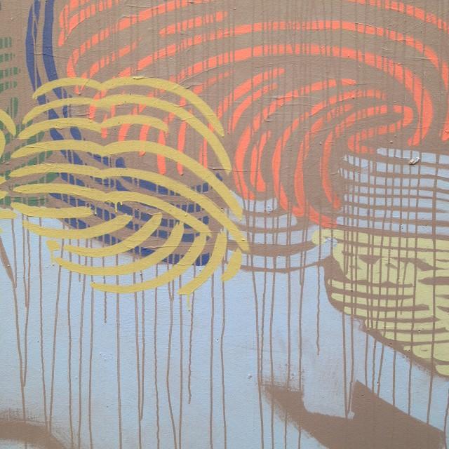 """""""Abstract Graffiti 04, Perth"""" stock image"""