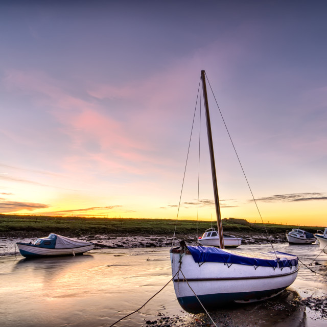 """Velator sunrise, North Devon"" stock image"