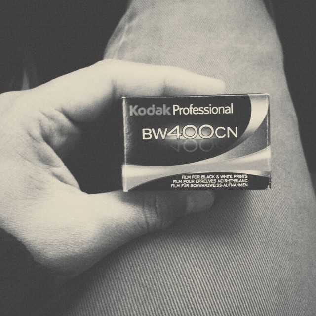 """Kodak BW400CN"" stock image"