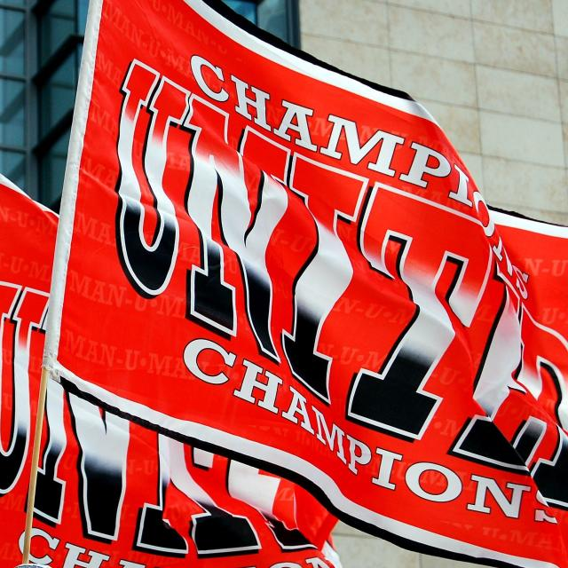 """united champions football flags"" stock image"