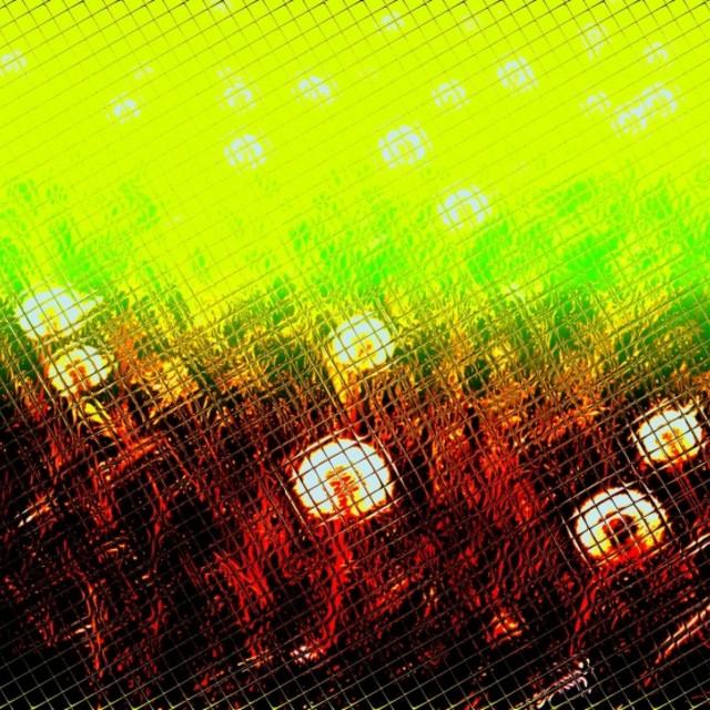 """""""Alien dandelions"""" stock image"""