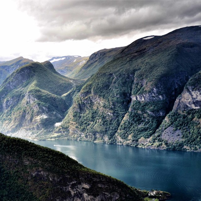 """Sognefjord"" stock image"