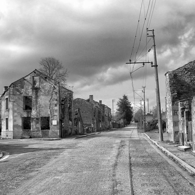 """""""Oradour-sur-Glane"""" stock image"""