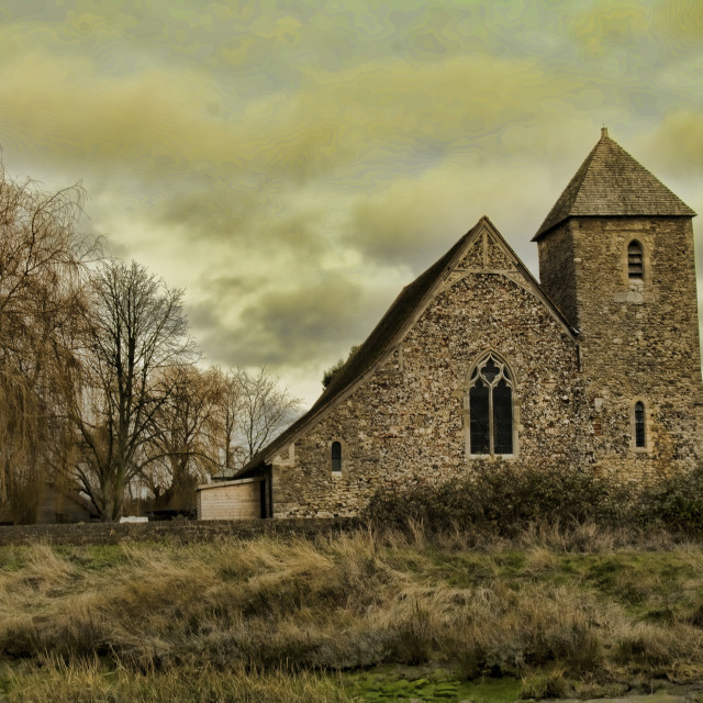 """St Margaret Lower Halstow"" stock image"