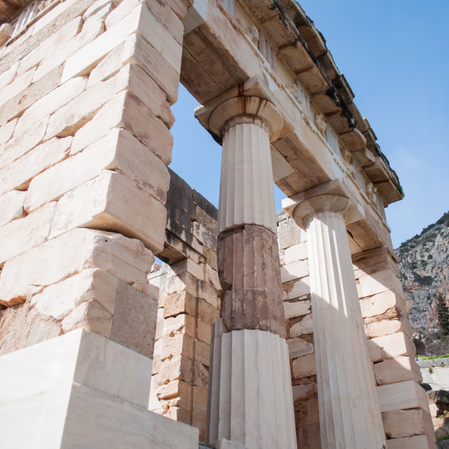 """Ancient Greek Temple"" stock image"