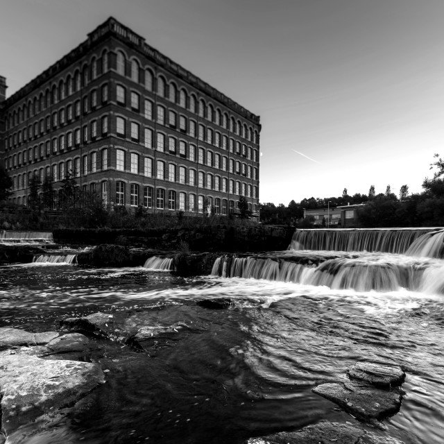 """Anchor Mill, Paisley"" stock image"