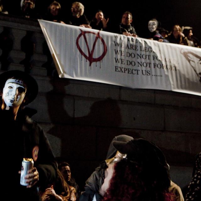 """Anonymous"" stock image"