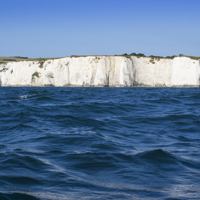 """Chalk cliffs"" stock image"