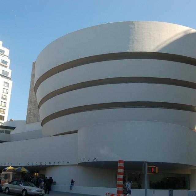 """""""Guggenheim New York"""" stock image"""