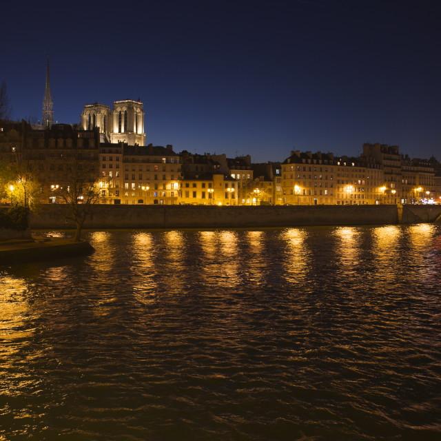 """""""Ile de la Cité"""" stock image"""