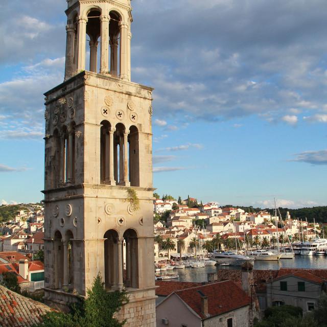 """Hvar Town, Croatia"" stock image"