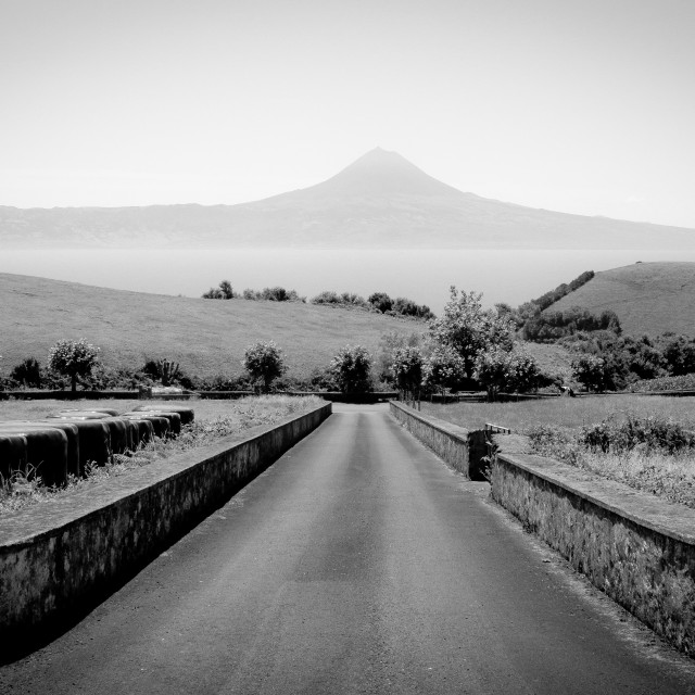 """Road to Pico"" stock image"