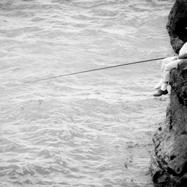 """Fishing 2"" stock image"