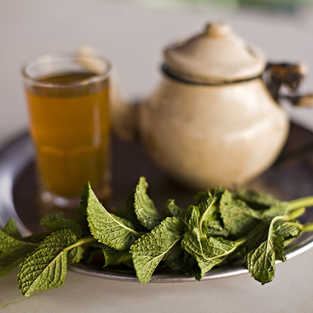 """Mint Tea"" stock image"