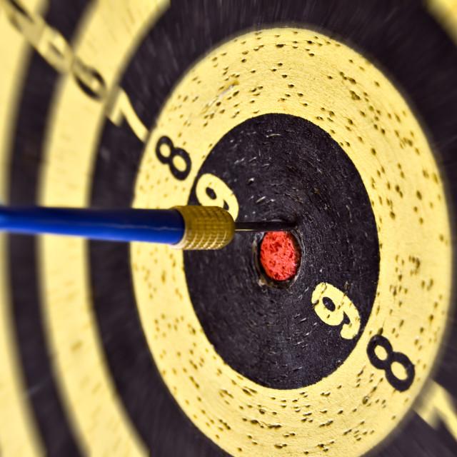 """arrow and target"" stock image"