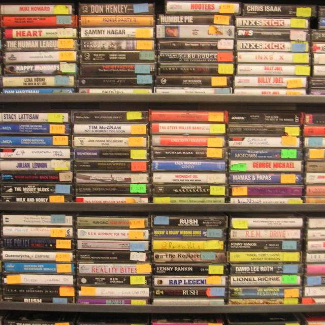 """Cassettes"" stock image"