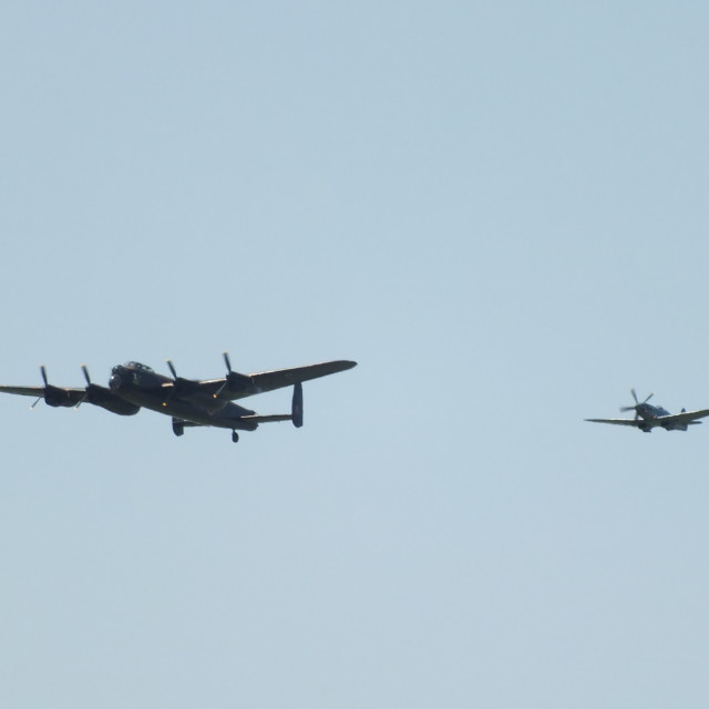 """Battle Of Britain Memorial Flight"" stock image"