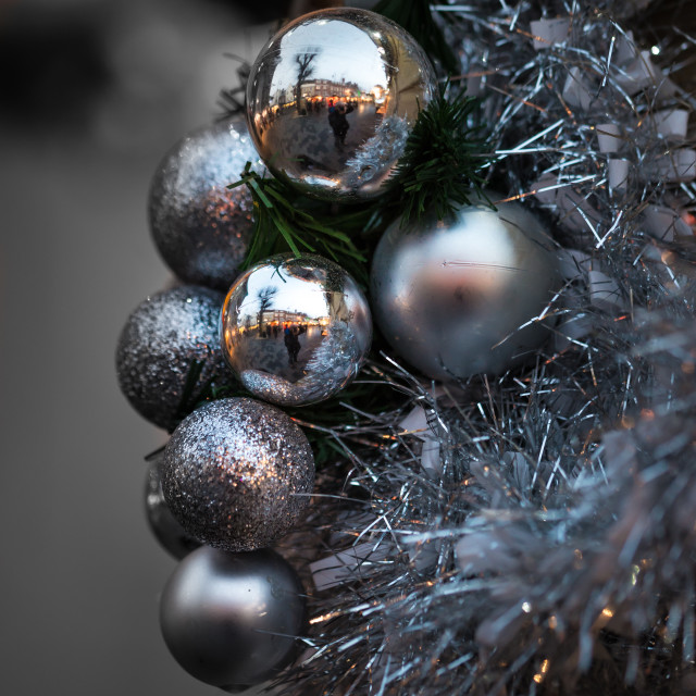 """Baubles"" stock image"