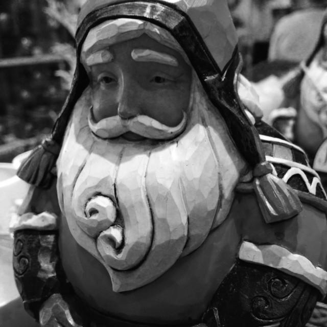 """Christmas Decoration: Santa Claus"" stock image"