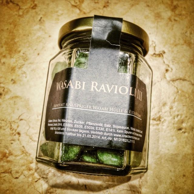 """Wasabi ravioli"" stock image"
