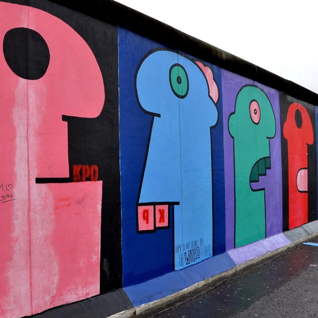 """Berlin : East Side Gallery"" stock image"