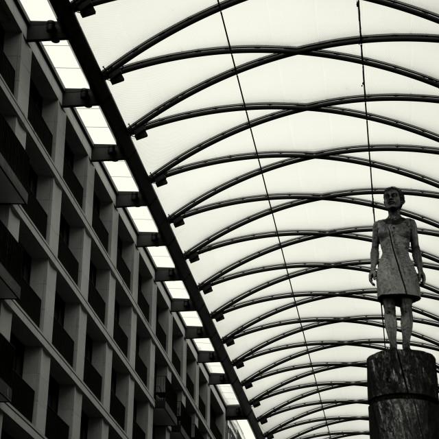 """""""Berlin : Heiliggeistgasse"""" stock image"""