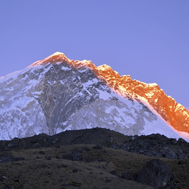 """Himalayan Sunset"" stock image"