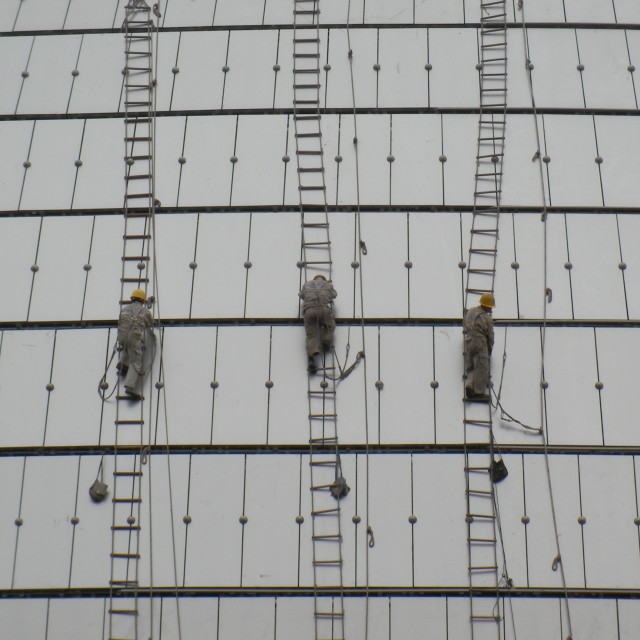 """Window Cleaners"" stock image"