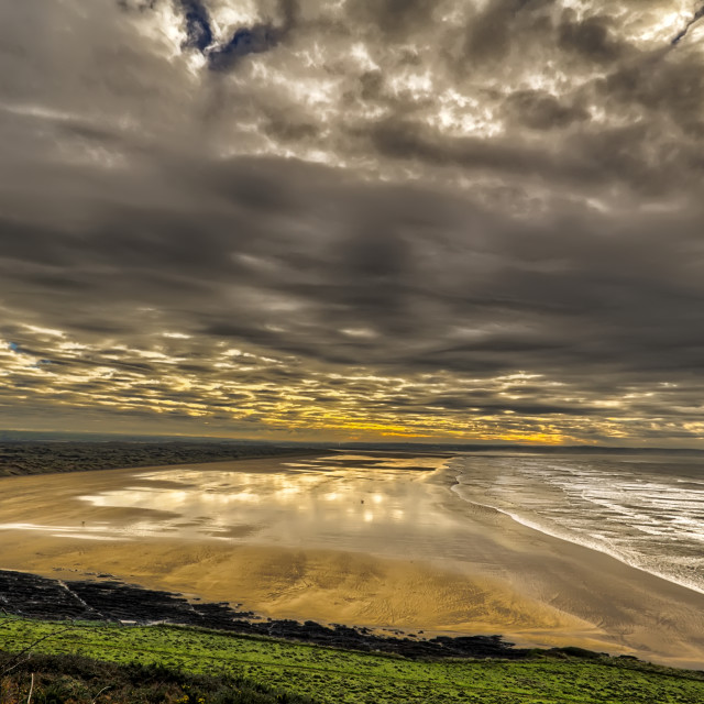 """Saunton Sands"" stock image"