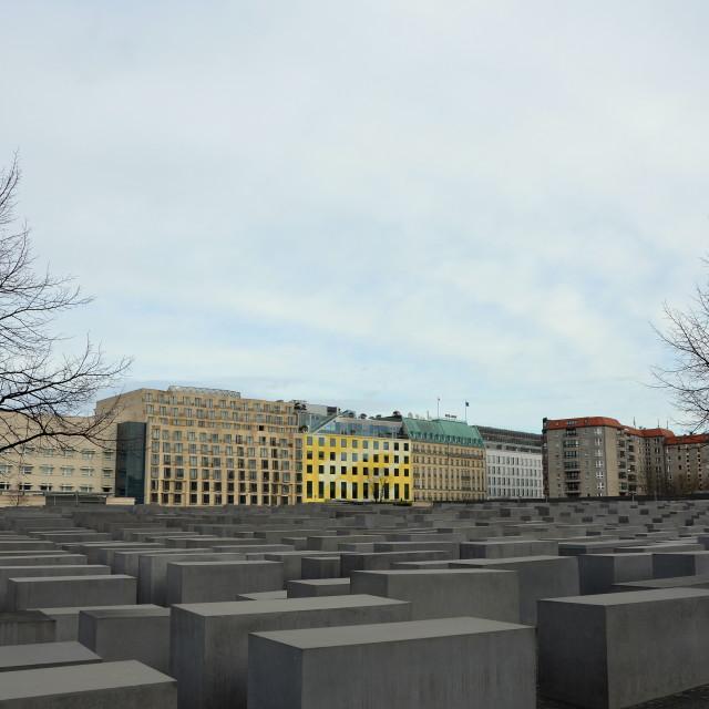 """Holocaust Memorial 1"" stock image"