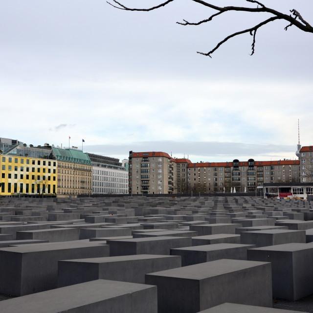 """Holocaust Memorial 2"" stock image"