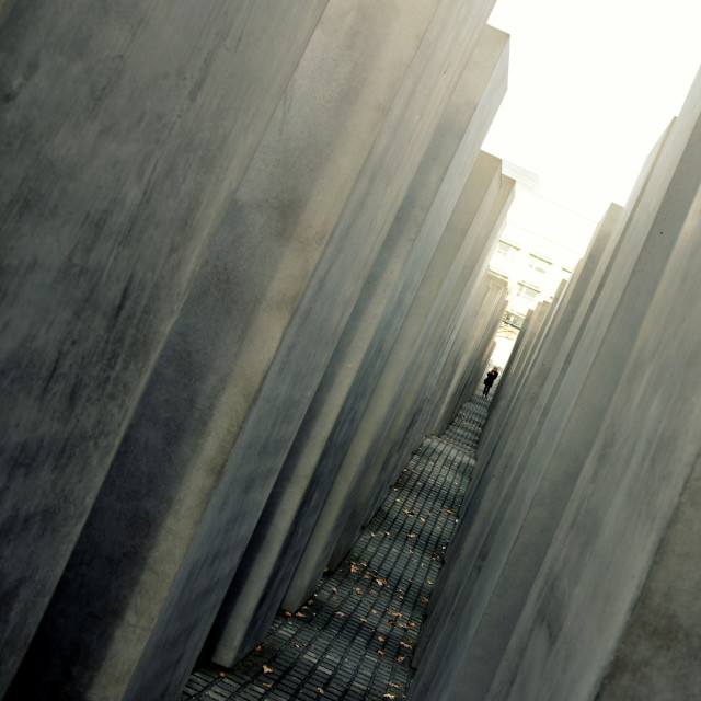 """Holocaust Memorial 3"" stock image"