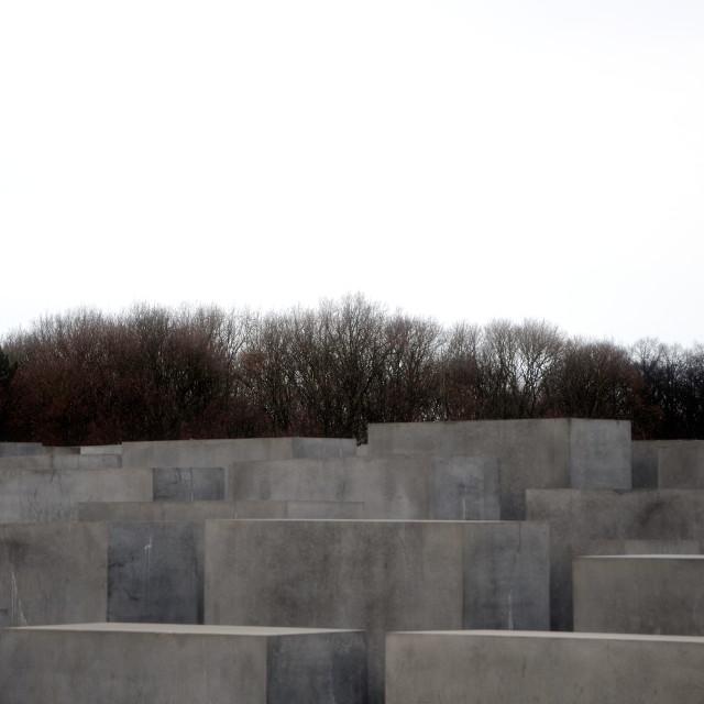 """Holocaust Memorial 4"" stock image"