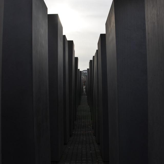"""Holocaust Memorial 5"" stock image"