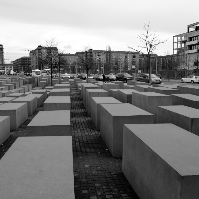 """Holocaust Memorial 6"" stock image"