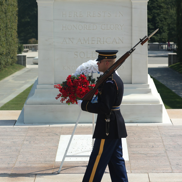 """Tomb Of The Unknowns"" stock image"